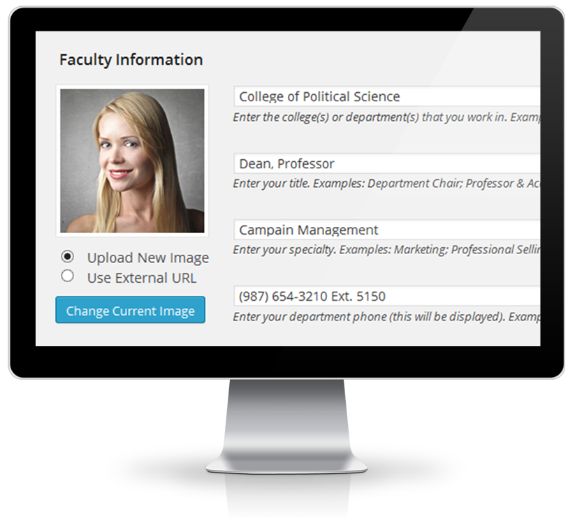 FacultyProfile